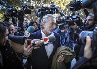El cabecilla de la 'trama Gürtel', Francisco Correa, antes de entrar en prisión.