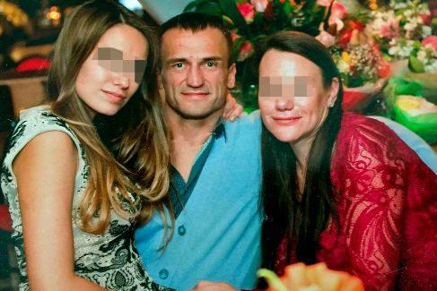 El lituano Sergejus Belikas, señalado como jefe del clan por Europol, posa satisfecho en un evento local.