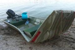 Dos embarcaciones han sufrido un accidente en el pantano de Mequinenza.
