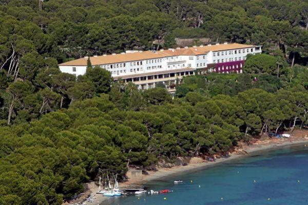 Vista panorámica del Hotel Formentor, propiedad de Barceló desde 2006.