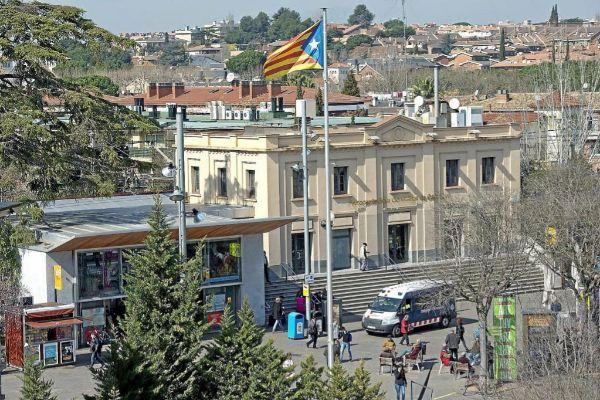 La localidad de Sant Cugat del Vallès.