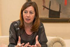 Entrevista Francina Armengol, presidenta de Baleares.
