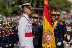 Felipe VI homenajea a los 186 militares muertos en misiones de paz
