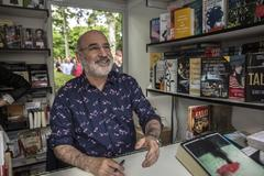 Fernando Aramburu en la Feria del Libro de Madrid