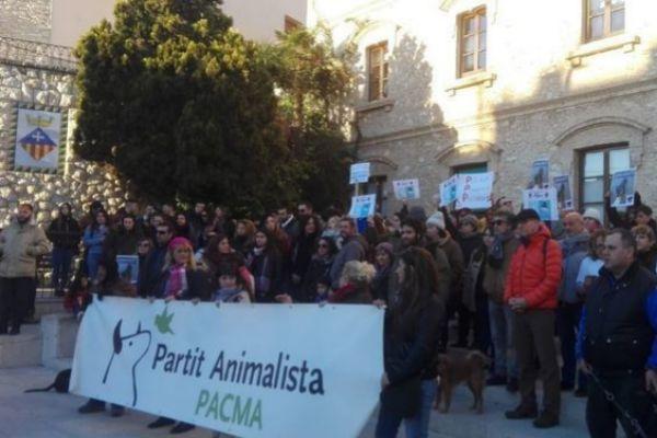 Protesta del Pacma tras los hechos