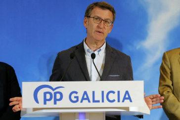 Alberto Núñez Feijóo valora los resultados de las elecciones del 26-M.