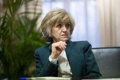 La ministra de Sanidad, María Luisa Carcedo, en una imagen de archivo.