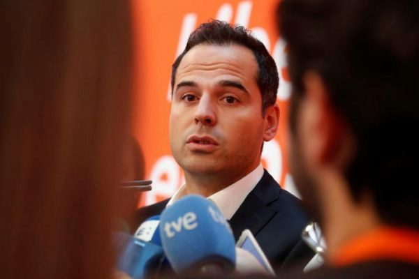 Ignacio Aguado, candidato de Cs en la Comunidad de Madrid.