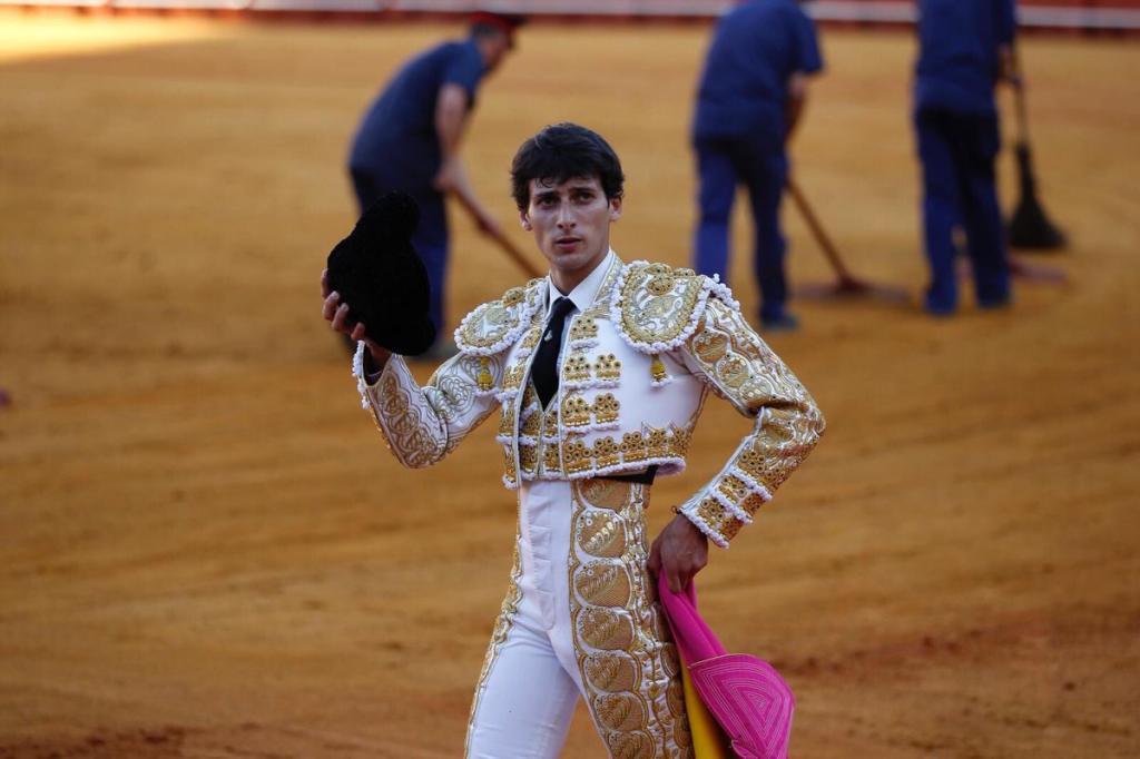 Antonio Grande cortó una oreja en La Maestranza hace sólo una semana