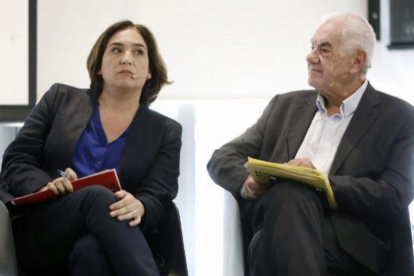 Ada Colau y Ernest Maragall, en un debate de campaña.