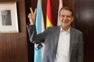 Abel Caballero, alcalde socialista de Vigo, tras revalidar su mayoría absoluta.