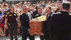 """El cuerpo de José Antonio Reyes, recibido como """"leyenda"""" en el Sánchez-Pizjuán"""