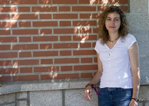 La estudiante universitaria zamorana Sandra Escudero.