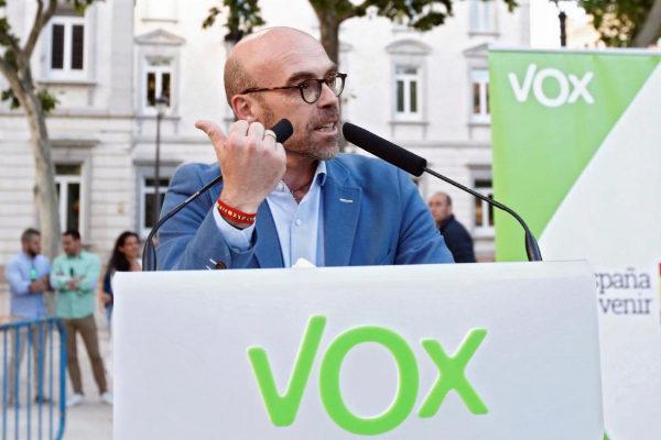 Jorge Buxadé, número uno de Vox para las elecciones europeas.