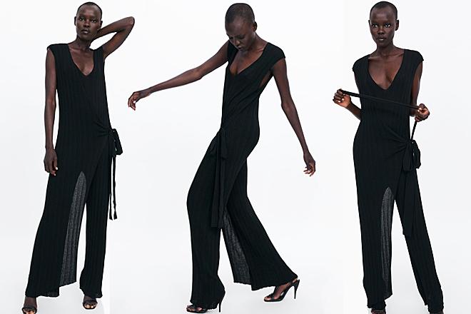 Zara acierta con su vestido más cómodo que se transforma por
