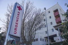 Área de urgencias de un hospital del Servicio Andaluz de Salud.