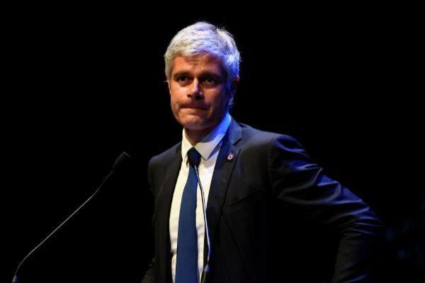 El ya ex líder de Los Republicanos Laurent Wauquiez, en un acto de su partido.