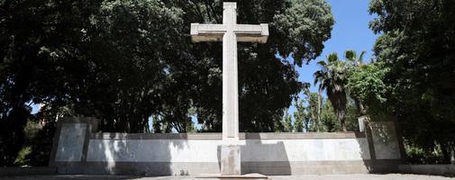 Cruz del parque Ribalta.