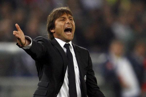 Antonio Conte en su etapa en el banquillo de la Juventus