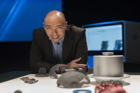 El responsable de ventas de la división 3D de HP en España, Jaume Homs.