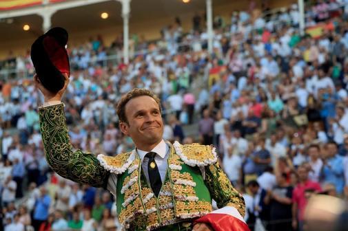El torero Antonio Ferrera, en la plaza de toros de Las Ventas.