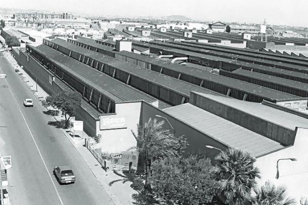 Planta de Gavà donde trabajaba el operario, en una foto de 1995