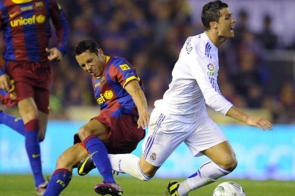 Adriano cuando jugaba en el Barça