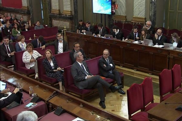GRAF020. MADRID.-Imagen tomada de la señal institucional del Tribunal...