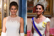Melania Trump y Kate Middleton.