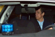Eduardo Zaplana, tras ser detenido por el 'Caso Erial'.