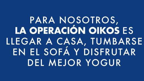 Campaña de Danone sobre Oikos y la operación Oikos.