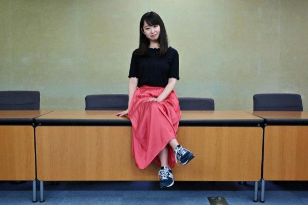 Yumi Ishikawa, líder y fundadora del movimiento #KuToo.