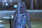 Leticia Sabater en el vídeo de 18 centímetros Papi, su canción...