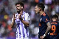 Borja, durante el partido contra el Valencia.