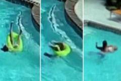La pequeña heroína de 10 años que salvó a su hermana de tres de morir ahogada