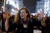 Manifestación en la jornada de huelga feminista del 8 de marzo
