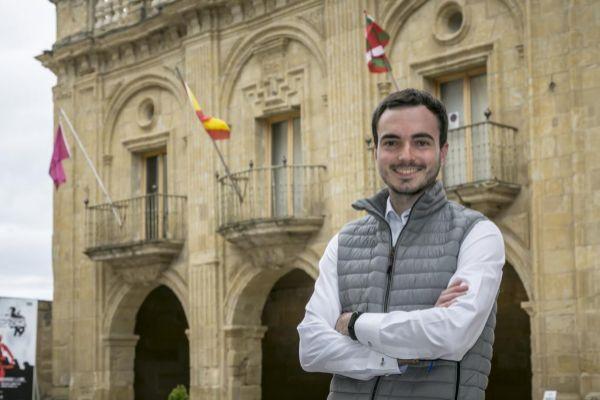 Daniel García, ganador de las elecciones en Labastida.
