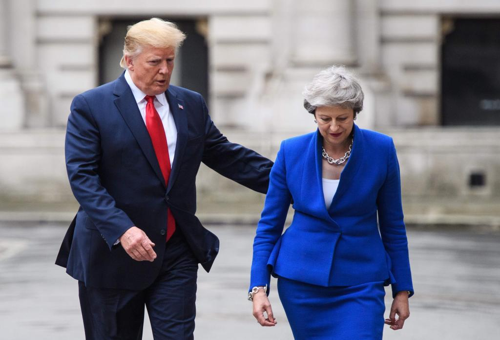 Trump en Londres, como elefante en cacharrería