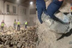 Una tonelada de cocaína escondida en piedras falsas