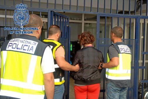Loreta V., la detenida por el crimen de la pastelera en El Ejido