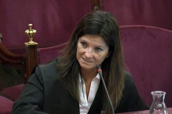 La jefa de lo Penal de la Abogacía del Estado, Rosa Seoane,