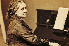 La pianista y compositora Clara Schumann renunció a su carrera para  favorecer la de su marido, Robert.