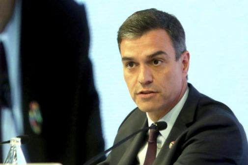 Pedro Sánchez, durante la sesión de cierre del Cercle