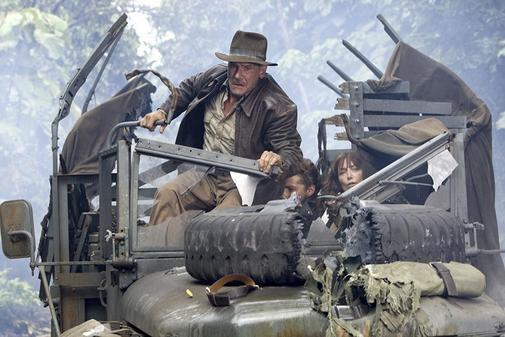 Fotograma de la película 'Indiana Jones y el reino de la calavera de cristal' (2008).