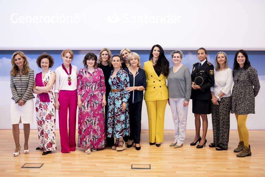 Presentación exposición Protagonistas del año - Banco Santander