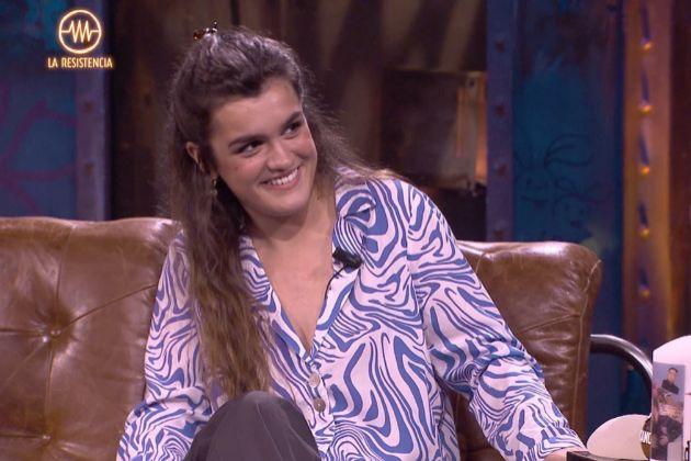 Amaia Romero, ganadora de OT 2017, en La Resistencia, donde jugó con...