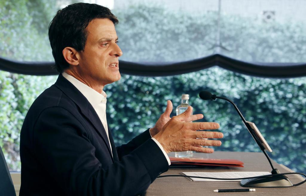 Manuel Valls, la flor de lis