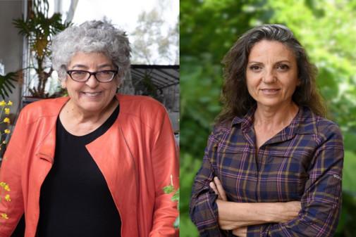 Joanne Chory y Sandra Myrna Díaz.