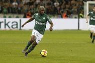 El futbolista francés Yannis Salibur, detenido en Palma.