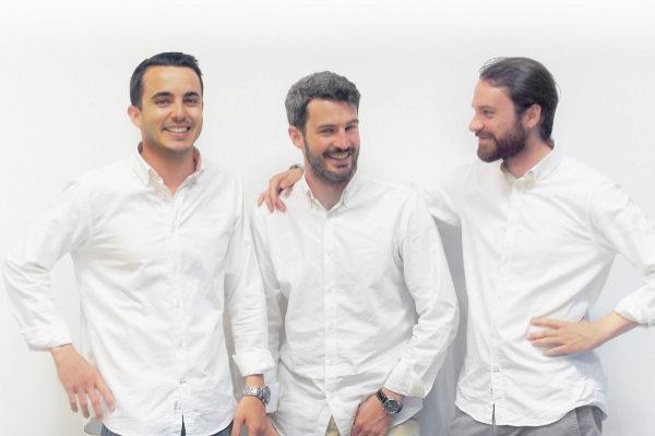 Manuel Soria, Alejandro Soria y Alejandro Cuevas, fundadores de Cohosting.